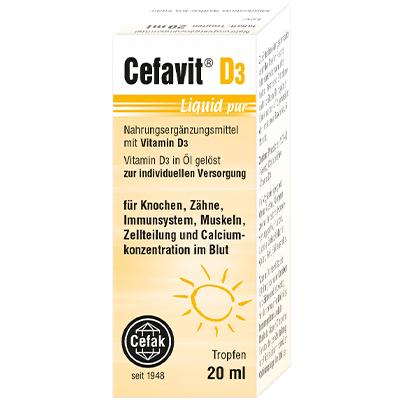 Cefavit D3 liquid pur Verpackung